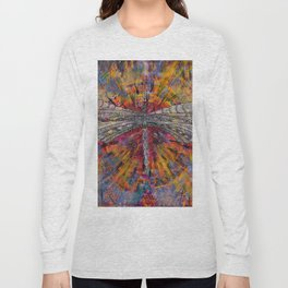 Mandala Dragon Long Sleeve T-shirt
