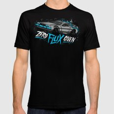 Zero Flux Given Mens Fitted Tee Black MEDIUM