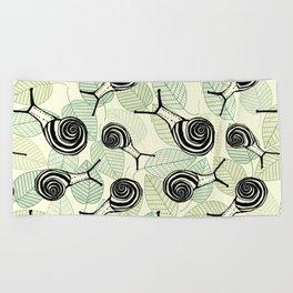 Snails Beach Towel