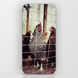 The Clan Chicks iPhone Skin