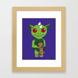 Chuy and Cabra Framed Art Print