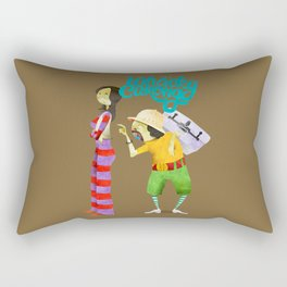 Whacky Cukong Rectangular Pillow