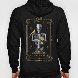 Death XIII Tarot Card Hoody