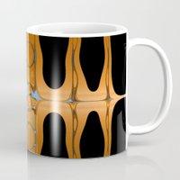 copper Mugs featuring copper by Maureen Popdan