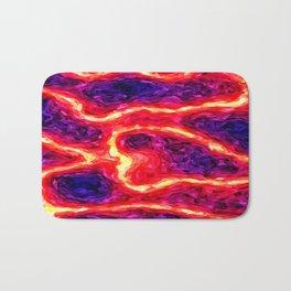 volcanoimpressionism Bath Mat