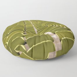Olympic stadium in Munich Germany Floor Pillow