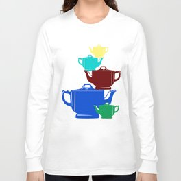 Favoriteware Stacked Pots Long Sleeve T-shirt