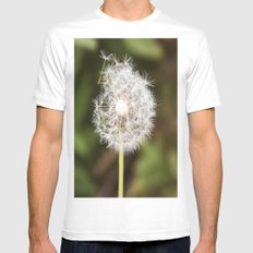 A weed. White Mens Fitted Tee MEDIUM