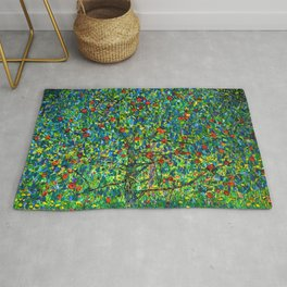 "Gustav Klimt ""Apple tree"" I Rug"