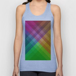 Rainbow colors 1 Unisex Tank Top