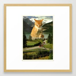 The Oracle of Lake Louise Framed Art Print