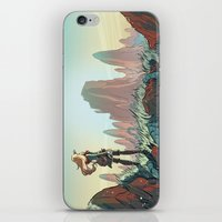 brand new iPhone & iPod Skins featuring Brand new world by LaurenceBaldetti