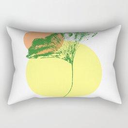 Ginkgo Leaf - #3 Rectangular Pillow