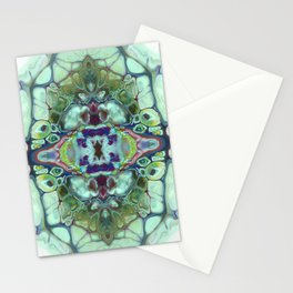 mirror times 4 Stationery Cards