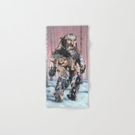 Catsquatch (super high res) Hand & Bath Towel