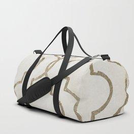 Paris Apartment White Duffle Bag