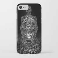 letters iPhone & iPod Cases featuring Letters  by Justin Forster Photo