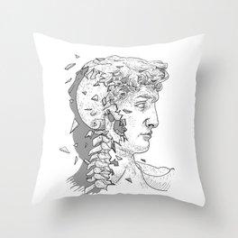 Occult David Throw Pillow