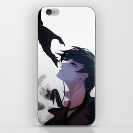 Cross My Heart iPhone Skin