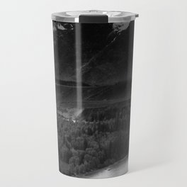 Ansel Adams - The Tetons and Snake River Travel Mug