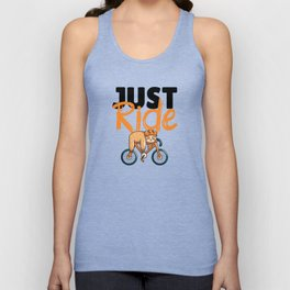 Just ride Unisex Tank Top
