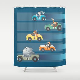 The Great Animal International Invitational Race Shower Curtain