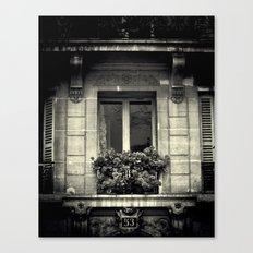 French Window  Canvas Print