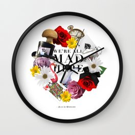Alice In Wonderland: MAD Wall Clock