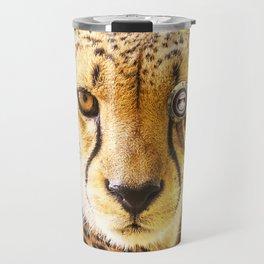 Steampunk Cheetah Travel Mug