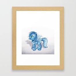 Crystal Dash Framed Art Print