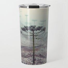 Winter Araucaria Travel Mug