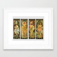 art deco Framed Art Prints featuring Art Deco  by The Morgan Way