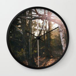 Peace in the Woods Wall Clock