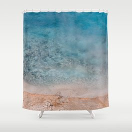 Best Blue - Yellowstone Photography Shower Curtain