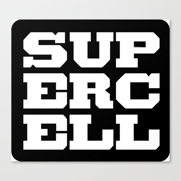 Supercell Logo Canvas Print