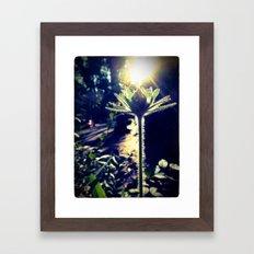 Backlight Framed Art Print