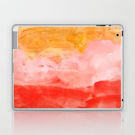 coral horizon Laptop & iPad Skin