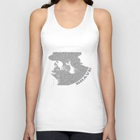 be brave Tank Tops featuring Brave by laura2035
