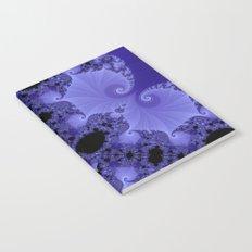 Fabulous Fractals - Blue Shells Notebook