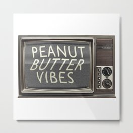Peanut Butter Vibes Metal Print