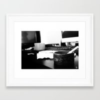 the office Framed Art Prints featuring Office by Difilippo