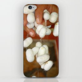 Mullberry Silkworm Cocoons iPhone Skin