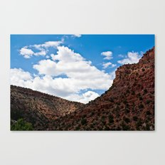 Arizonan Landscape 1 Canvas Print