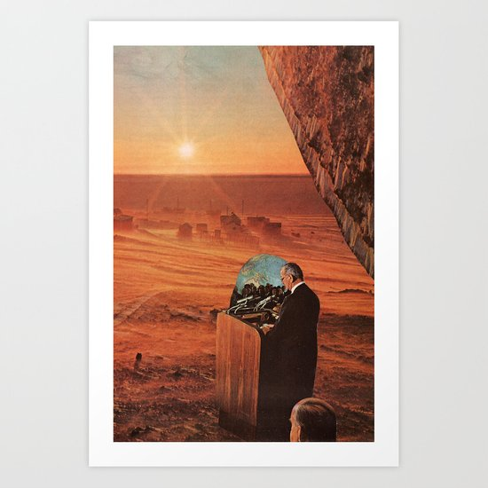 new day rising Art Print
