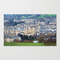 architecture Canvas Prints featuring Architecture by Michael Itliong