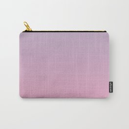 grey , lilac, pink gradient, Ombre Carry-All Pouch
