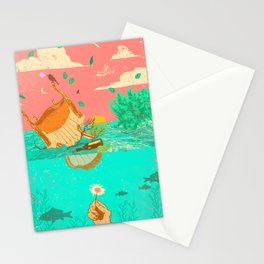 FLOOD MESS Stationery Cards
