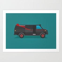 A-team Art Print