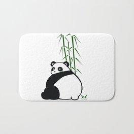 Big Butt Panda Bath Mat