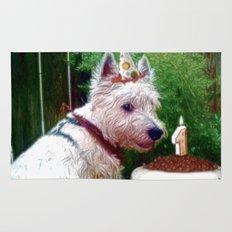Dewey's First Birthday! Rug